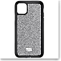 Swarovski Glam Rock Smartphone Case with Bumper, iPhone 11 Pro Max, Silver Tone