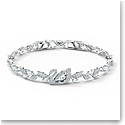 Swarovski Bracelet Dancing Swan Tlk Crystal Rhodium Silver M