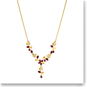 Swarovski Necklace Tropical Necklace Y Light Multi Gold