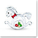 Swarovski Rocking Horse Happy Holidays