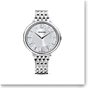 Swarovski Crystalline Chic Watch, Metal Bracelet, Silver Tone, Stainless Steel