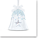Swarovski Bell Ornament, Star, Large