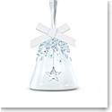 Swarovski Bell Ornament, Star, Small