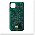 Swarovski Glam Rock Emerald 11 Pro Max Case Green