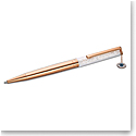 Swarovski Crystalline Evil Eye Ballpoint Pen, White, Rose Gold Tone Plated