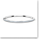 Swarovski Rare Bangle Bracelet, White, Rhodium Plated