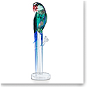 Swarovski Jungle Beats Banjo The Green Macaw