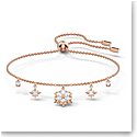 Swarovski Magic Bracelet, White, Rose Gold Tone Plated