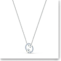 Swarovski Zodiac Pendant Necklace, Cancer, White, Mixed Metal Finish