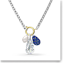 Swarovski The Elements Necklace, Blue, Mixed Metal Finish