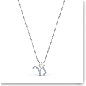Swarovski Zodiac Pendant Necklace, Capricorn, White, Mixed Metal Finish