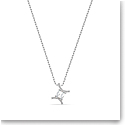 Swarovski Zodiac Pendant Necklace, Gemini, White, Mixed Metal Finish