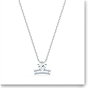 Swarovski Zodiac Pendant Necklace, Libra, White, Mixed Metal Finish