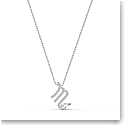 Swarovski Zodiac Pendant Necklace, Scorpio, White, Mixed Metal Finish