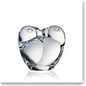 Steuben Lovebirds Hand Cooler