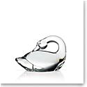 Steuben Swan Hand Cooler