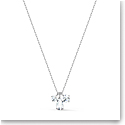 Swarovski Attract Cluster Pendant Necklace, White, Rhodium Plated