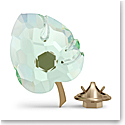 Swarovski Jungle Beats Magnet Leaf Green Large