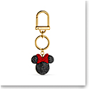 Swarovski Disney Bag Charm Black and Gold Minnie