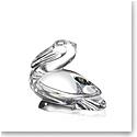 Steuben Pelican Hand Cooler
