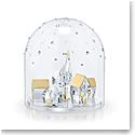 Swarovski Holiday Magic Bell Jar Winter Village