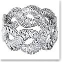 Swarovski Hyperbola Bracelet, White, Rhodium Plated