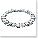 Swarovski Millenia Necklace, Octagon Cut Crystals, White, Rhodium Plated