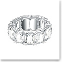 Swarovski Millenia Bracelet, Octagon Cut Crystals, White, Rhodium Plated