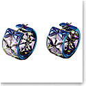 Swarovski Curiosa Earrings, Blue, Pair