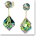 Swarovski Curiosa Clip Earrings, Multicolored, Gold-Tone Plated, Pair