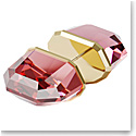 Swarovski Lucent Stud Earring Single, Pink, Rose-Gold Tone Plated