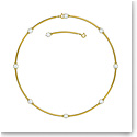 Swarovski Constella Choker Necklace , White, Gold-Tone Plated