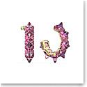 Swarovski Chroma Hoop Earrings, Pink, Gold-Tone Plated, Pair