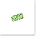 Swarovski Millenia Ear Cuff, Green, Gold-Tone Plated, Single