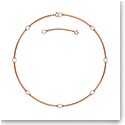 Swarovski Constella Necklace, White, Rose-Gold Tone Plated