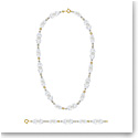 Swarovski Somnia Necklace And Bracelet Set, Multicolored, Gold-Tone Plated