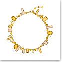Swarovski Gema Necklace, Multicolored, Gold-Tone Plated