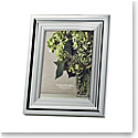 """Vera Wang Wedgwood With Love Silver 8x10"""" Picture Frame"""