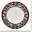 "Wedgwood Renaissance Gold Accent Salad Plate 9"" Scroll, Single"
