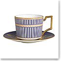 Wedgwood Anthemion Blue Espresso Cup