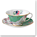 Wedgwood Butterfly Bloom Teacup and Saucer Set Butterfly Posy