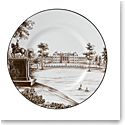 "Wedgwood China Parkland Accent Plate 9"" Stowe House"