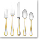 Lenox Vintage Jewel Gold Flatware 5 Piece Place Set