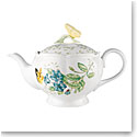 Lenox Butterfly Meadow Dinnerware Teapot With Lid
