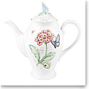 Lenox Butterfly Meadow Dinnerware Coffeepot With Lid