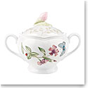 Lenox Butterfly Meadow Dinnerware Sugar Bowl With Lid