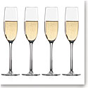 Lenox Tuscany Classics, Crystal Fluted Crystal Champagne, Set of 4