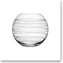 Orrefors Crystal, Graphic Round Crystal Vase, Large