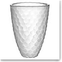 "Orrefors Crystal Raspberry Frost 6"" Small Vase"