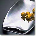 """Nambe Metal 14"""" Handled Tray"""